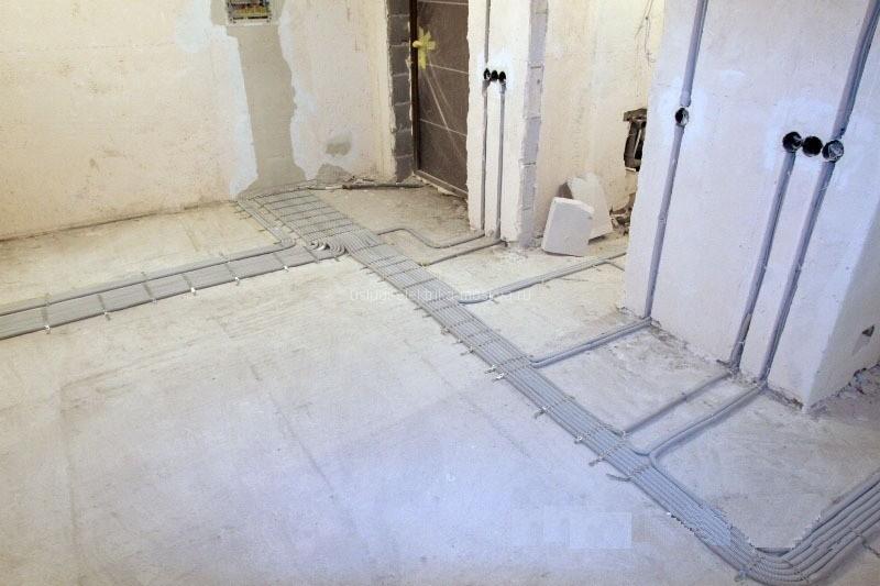 замена электропроводки в квартире стоимость работ под ключ