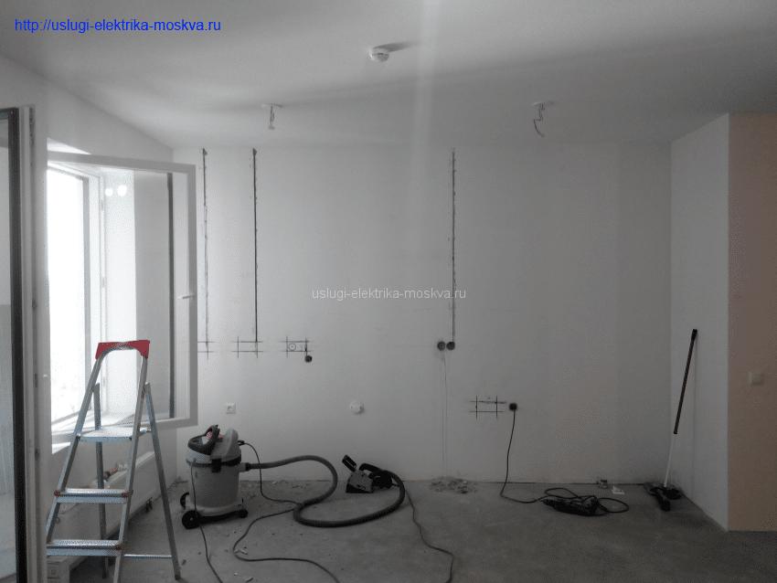 Замена проводки в квартире стоимость