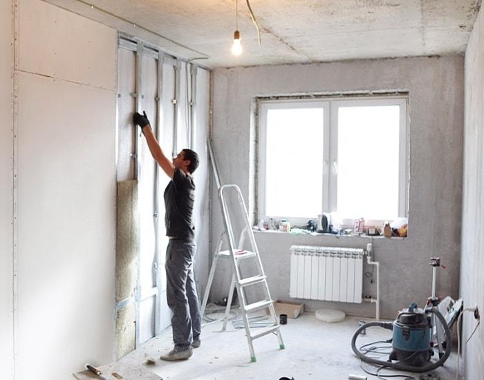 ремонт квартир в железнодорожном в новостройке установка гипсокартона на стену с каркасом