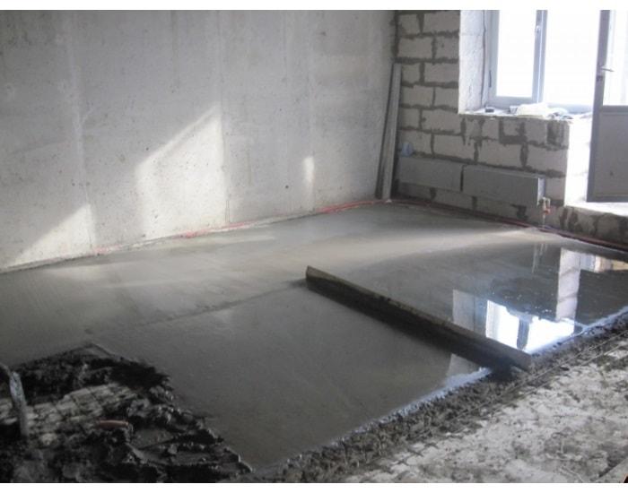 ремонт квартир в железнодорожном в новостройке недорого пол