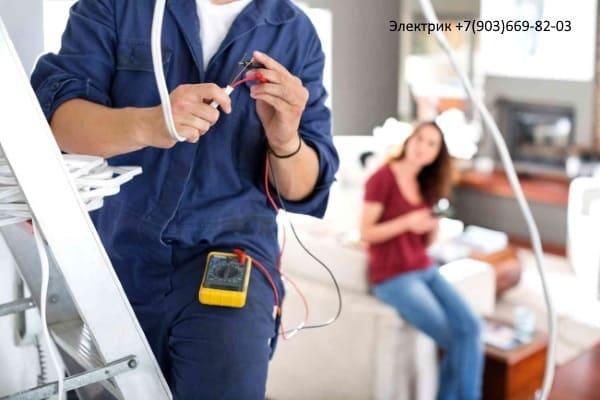 Расценки на подключение кабеля в щитке